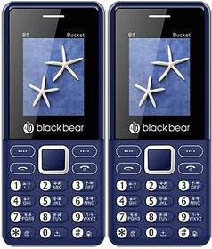 BLACKBEAR B5 Bucket Pack of 2 White Blue
