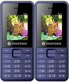 BLACKBEAR A1 Aura Pack of 2 White Blue