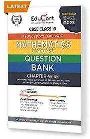 Educart CBSE Question Bank 2021 MATHEMATICS Class10