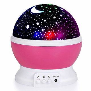 Romantic Sky Big Star Master Night Light Projector Children Kids Baby Sleep Lighting USB Lamp Led Projection