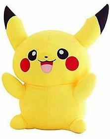 Stylin Pikachu Soft Teddy - 30 cm  (Yellow)