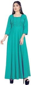 HSFS WOMAN' COTTON LONG DRESS