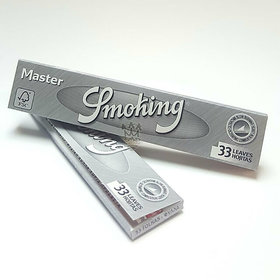 SMOKING MASTER KING SIZE ROLLING PAPER FULL BOX (PACK OF 50 BOOKLETS)