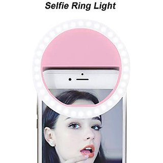 Mini Selfie Ring Light with Cell Phone Holder for Live Stream/Makeup,Led Camera Ring Light for YouTube