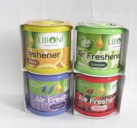 Set of 2 Liboni Dashboard Car Perfume Air Freshner For Home Office Car