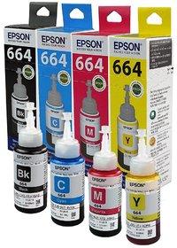 Original Epson Ink Bottles- Set of 4