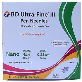 BD Ultra Fine Pen Needles 50 Pcs 4mm32G