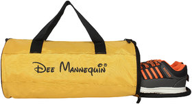 Dee Mannequin Gym And Sport Duffel Bag With Shoe Compartment