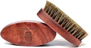 UrbanMooch Oval Shape Natural Boar Bristle Beard Brush