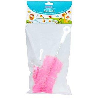 Small Wonder Bottle  Nipple Cleaning Brush Pink