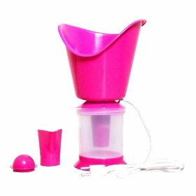 Latest 3 In 1 Steamer, Steam inhaler for cold and cough, Soothes (Balm effect) Steam Vaporizer