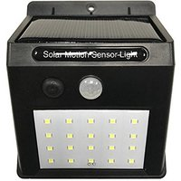 20 LEDS Solar Motion Sensor Light Super Bright Waterpro