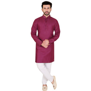 Kandy Long Cotton Kurta For Mens