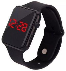Tecita T50 Black Digital Sport LED Dispaly Brand Digital Square Watch