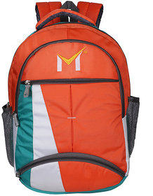 SMS Bag House Polyester Laptop and College bag For Student's,Office,Boy and Girls  Capacity 40 L, Colour Multicolor