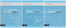 NEET Foundation Series-Class 6 (3 Books) Biology, Physics, Chemistry