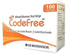 Sd Codefree 100 Strips (pack of 2)