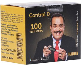 Control D Test Strips, 100