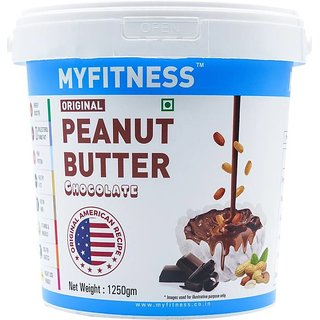 MYFITNESS Chocolate Peanut Butter 1250 g
