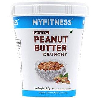 MYFITNESS Crunchy Peanut Butter 510 g