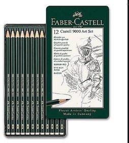 Faber Castell 12 Castell 9000 Art Set