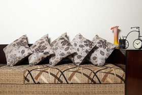 Atteractive Design Cushion Cover Pack Of 5 Real Desi