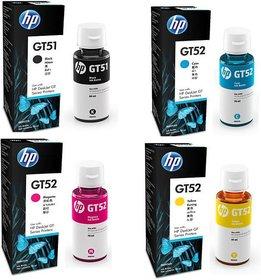 InkJet HP GT51 Original Multi Color Ink(Magenta, Black, Yellow, Cyan)