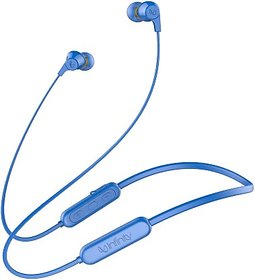 Infinity TRANZ N300 Bluetooth Headset  (Blue, In the Ear)