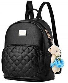 Om shree Sai Mini teddy Backpack Pink