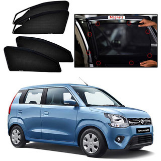 ZIPPER MAGNETIC SUN SHADES CAR CURTAINS-  Maruti Wagon-R (2019-Onwards)