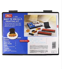 Shiny S-200 Rubber Stamp Easy To Use DIY Printing Kit