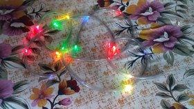 Diwali led blinking multicolor pipe string 360 cm light