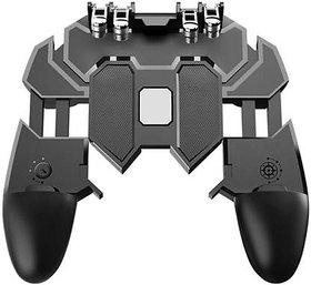 HBNS AK66 Mobile Game Controller Free Fire Key Button Joystick Gamepad L1 R1 Trigger for Pubg Gamepad