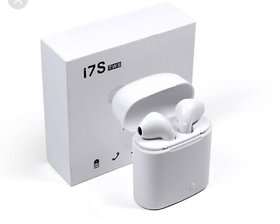 i7S TWS Twins Wireless Bluetooth In The Ear Earphone With Mic Portable Charging Power Dock