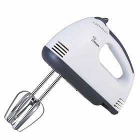 Karnavati Electric Beater Hand Held High Speed Blender (White)