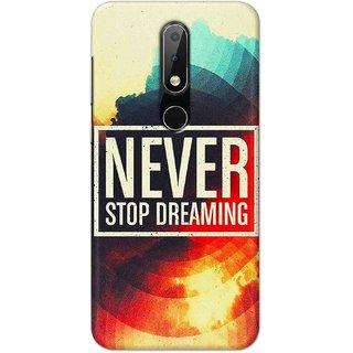 Print Ocean Latest Design High Quality Printed Designer Soft TPU Back Case Cover For Nokia 6.1 Plus