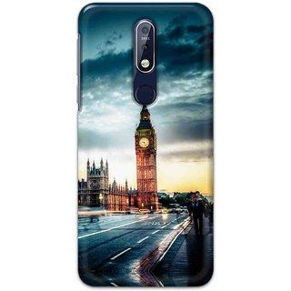 Print Ocean Latest Design High Quality Printed Designer Soft TPU Back Case Cover For Nokia 7.1