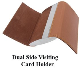 Double Sided Credit, Debit, ATM  ID Card Holder for Men, Women, Gents, Ladies, Boys  Girls