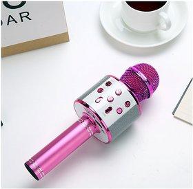 WS-858 Wireless Karaoke Microphone Wireless microphone HiFi Speaker
