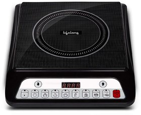Lifelong Inferno LLIC30 2000 Watt Induction Cooktop (Black)