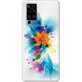 Digimate Latest Design High Quality Printed Designer Soft TPU Back Case Cover For Vivo X50 Pro