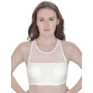 Kiwee Fashion Women's Lightly Comfortable Padded Butterfly Bralette Bra