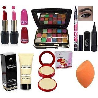 SWIPA Makeup Kit Combo62(Pack of 8)