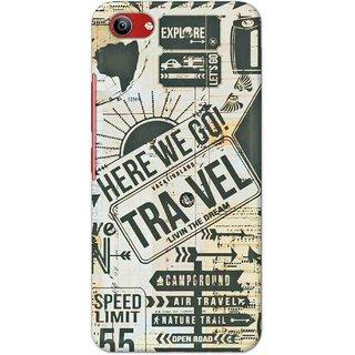 Print Ocean Latest Design High Quality Printed Designer Soft TPU Back Case Cover For Vivo Y81i