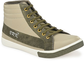 BRK Men's Cream Ankle Boot