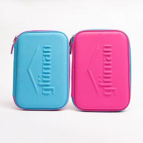 Gluman Grande Pencil Case-Blue  Pink Combo (CI-40050)