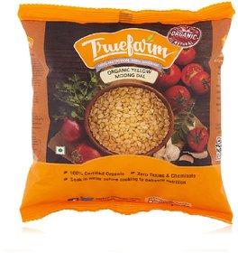 Truefarm Organic Yellow Moong Split (500g)