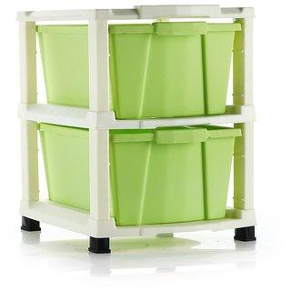 Green Modular Drawer Storage Organizer Set by DarkPyro Enterprise