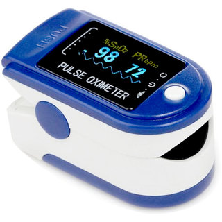 True India Plastic Body Digital Pulse Oximeter