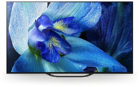 Sony Bravia 138 cm (55 inches) 4K Ultra HD Certified Android Smart OLED TV KD-55A8G (Black) (2019 Model)